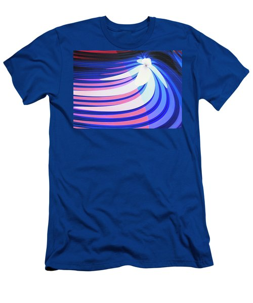 Orchid In A Stream Men's T-Shirt (Athletic Fit)