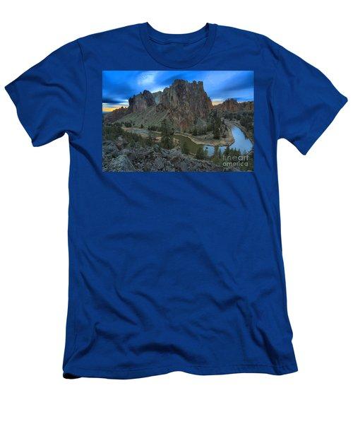 Oregon Desert Sunset Men's T-Shirt (Athletic Fit)