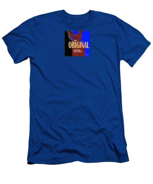 Original Artwork Men's T-Shirt (Athletic Fit)