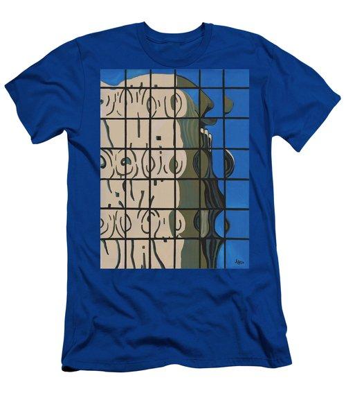 Osborn Reflections Men's T-Shirt (Slim Fit) by Alika Kumar