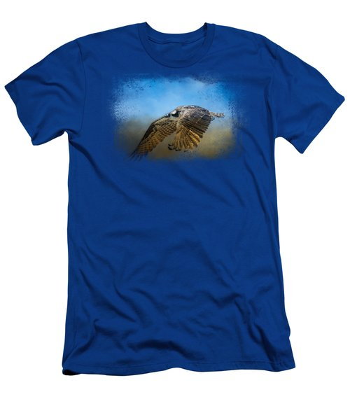 Osprey Over Pickwick Men's T-Shirt (Slim Fit) by Jai Johnson