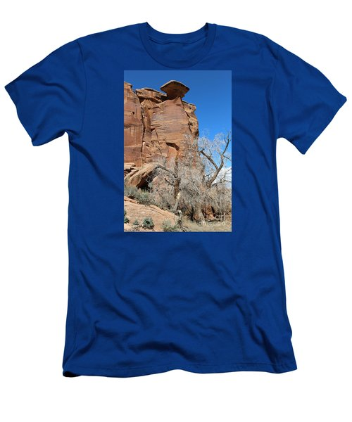 Outlaw Caprock Jump In Colorado Men's T-Shirt (Athletic Fit)