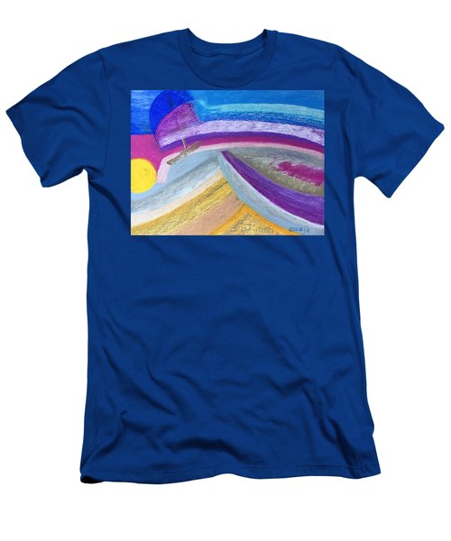 Over The Waves Men's T-Shirt (Athletic Fit)