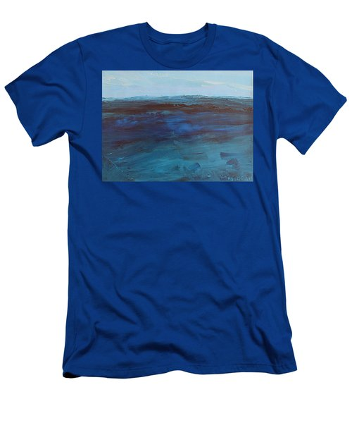 Pacific Blue Men's T-Shirt (Athletic Fit)