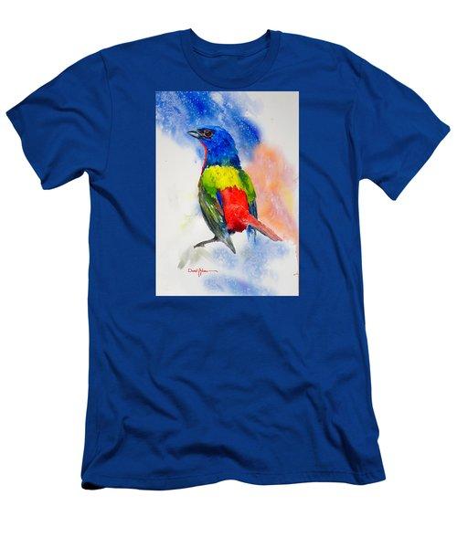 Da189 Painted Bunting Daniel Adams Men's T-Shirt (Athletic Fit)