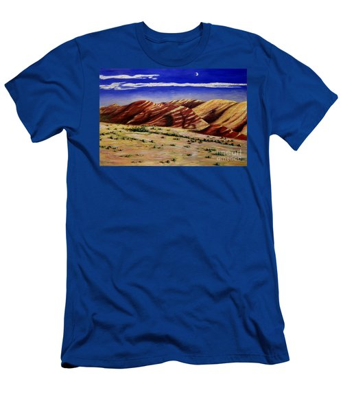 Painted Hills Men's T-Shirt (Slim Fit) by Lisa Rose Musselwhite