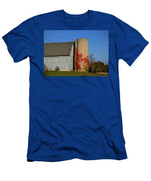 Painted Silo Men's T-Shirt (Athletic Fit)