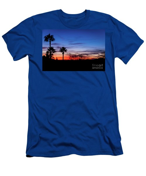 Palm Shadows II Men's T-Shirt (Athletic Fit)