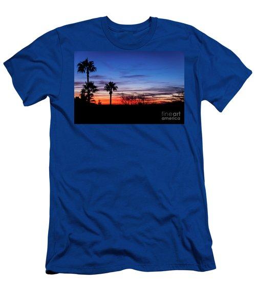 Palm Shadows II Men's T-Shirt (Slim Fit)