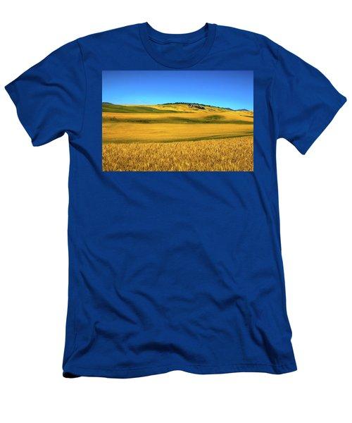 Palouse Wheat Field Men's T-Shirt (Athletic Fit)