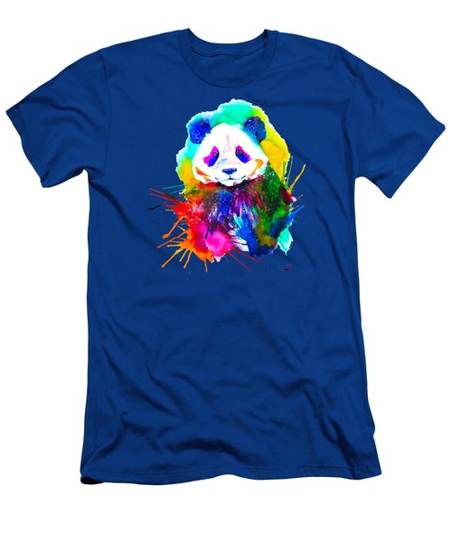 Panda Splash Men's T-Shirt (Athletic Fit)