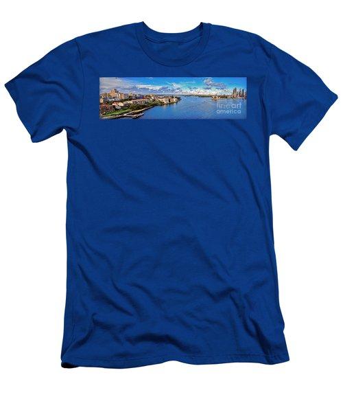Panoramic Sydney Harbour 2 Men's T-Shirt (Athletic Fit)
