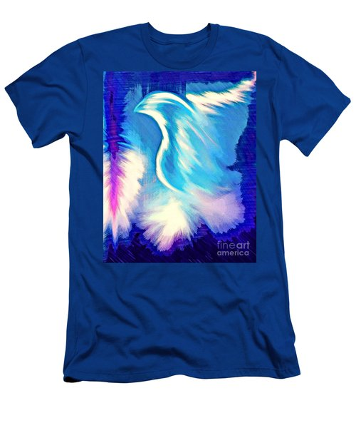 Men's T-Shirt (Athletic Fit) featuring the digital art Parakletos by Jessica Eli