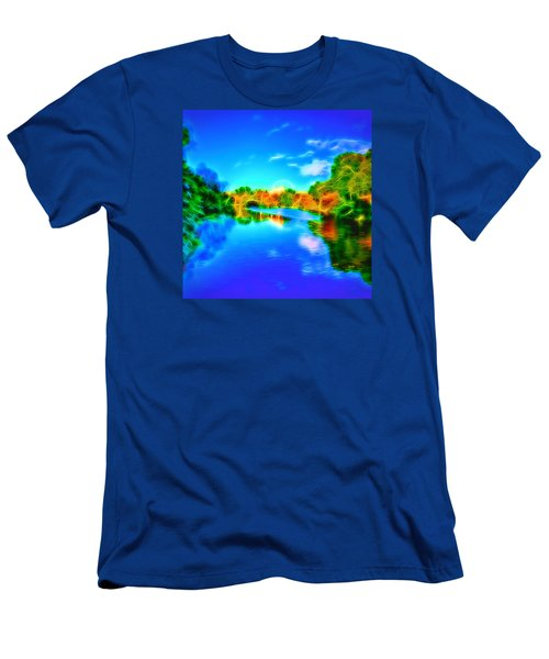 Men's T-Shirt (Slim Fit) featuring the photograph Parkland Symphony by Andreas Thust