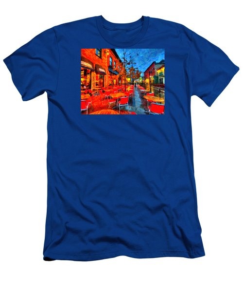 Patio Men's T-Shirt (Athletic Fit)