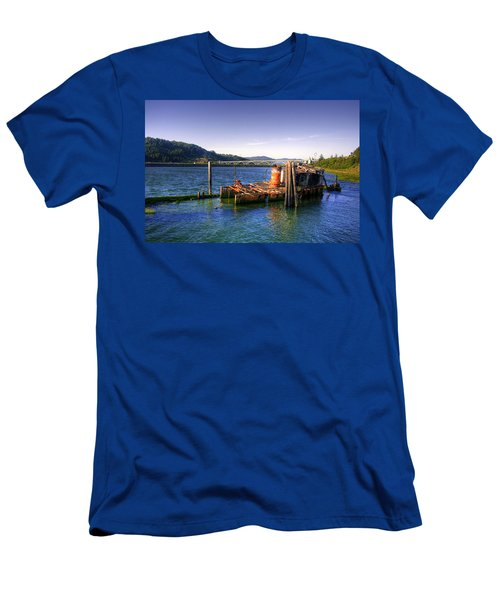 Patterson Bridge Oregon Men's T-Shirt (Athletic Fit)