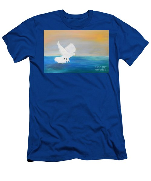 Peace Descending Men's T-Shirt (Athletic Fit)
