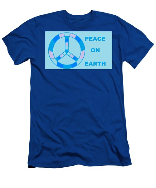 Peace On Earth 3 Men's T-Shirt (Athletic Fit)