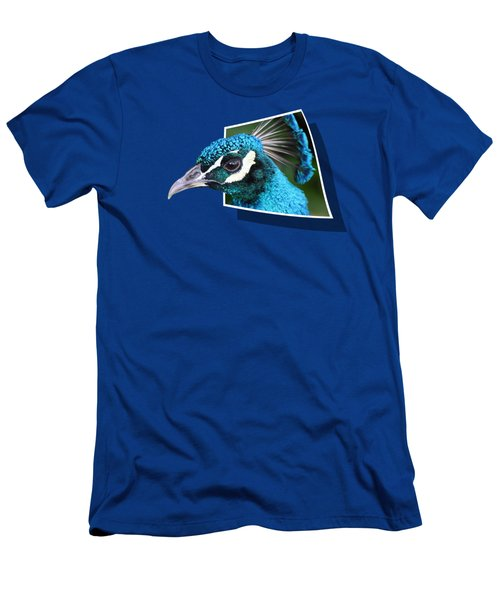 Peacock Men's T-Shirt (Athletic Fit)