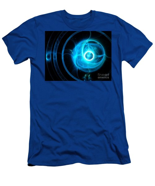 Men's T-Shirt (Athletic Fit) featuring the digital art Pearly Gates by Michal Dunaj