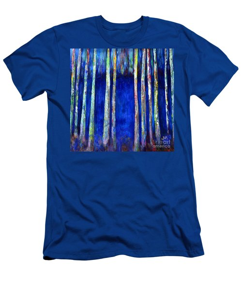 Peeking Through The Trees Men's T-Shirt (Athletic Fit)