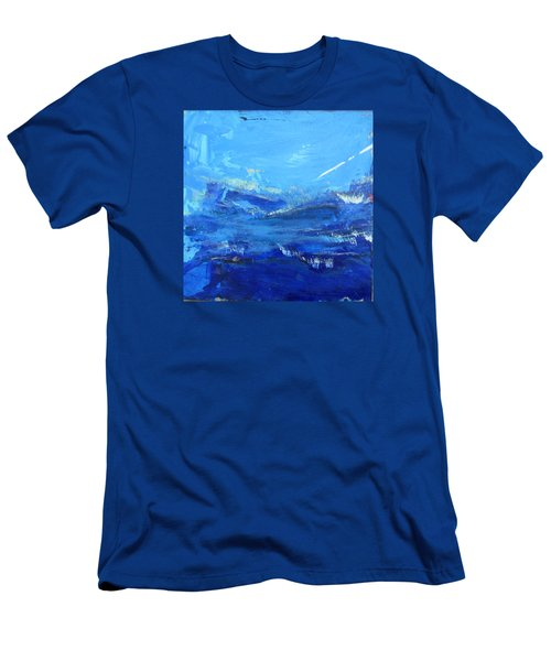 Peinture Abstraite Sans Titre 10 Men's T-Shirt (Athletic Fit)