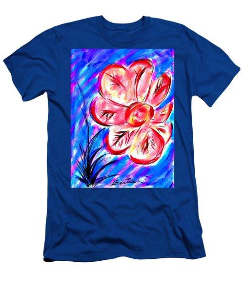 Peppermint Kiss Men's T-Shirt (Slim Fit)
