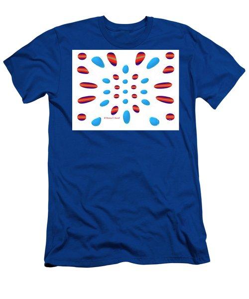 Petals N Dots P5 Men's T-Shirt (Athletic Fit)
