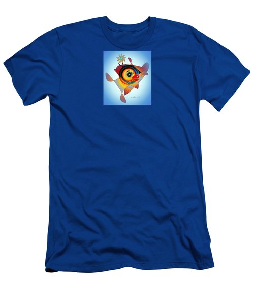 Petunia Parrot 2 Men's T-Shirt (Athletic Fit)