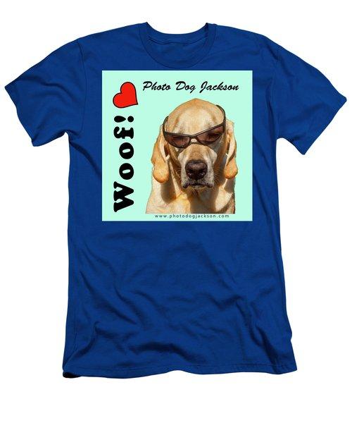Photo Dog Jackson Mug Men's T-Shirt (Athletic Fit)
