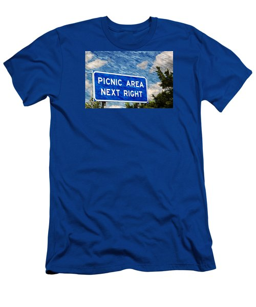 Picnic Area Men's T-Shirt (Athletic Fit)