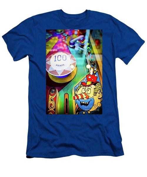 Pinball Art - Clown Men's T-Shirt (Athletic Fit)