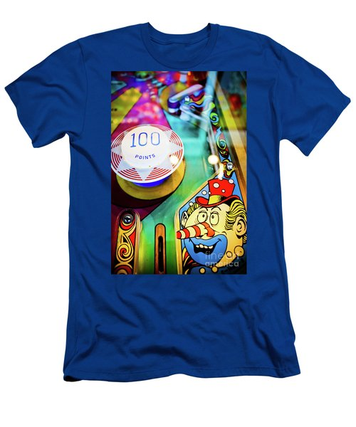 Pinball Art - Clown Men's T-Shirt (Athletic Fit)