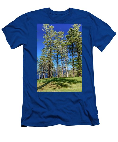 Men's T-Shirt (Athletic Fit) featuring the photograph Pines by Werner Padarin