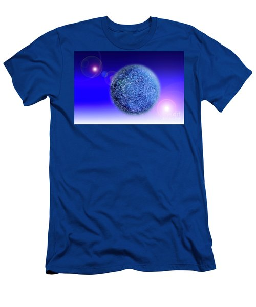 Planet Men's T-Shirt (Slim Fit) by Tatsuya Atarashi