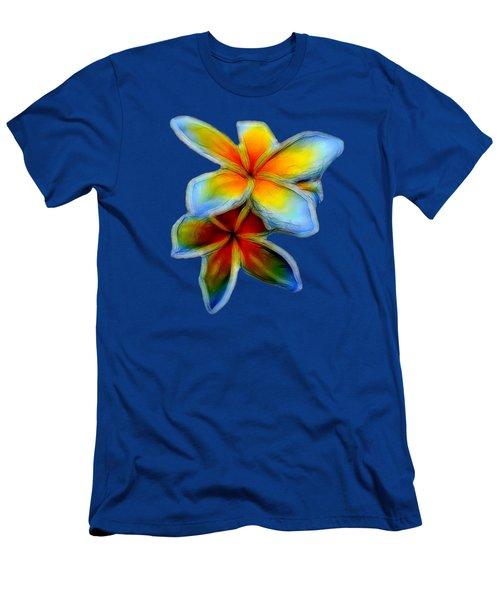 Plumerias Men's T-Shirt (Athletic Fit)