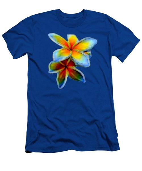 Plumerias Men's T-Shirt (Athletic Fit)
