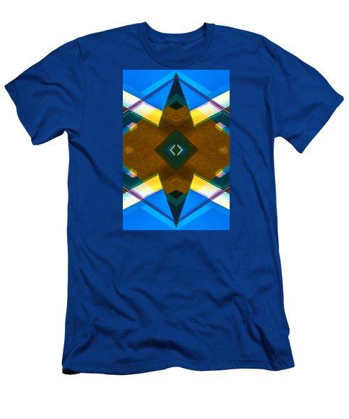 Poetry Foundation Library N86 V2 Men's T-Shirt (Slim Fit) by Raymond Kunst