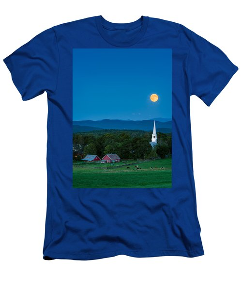 Pointing At The Moon Men's T-Shirt (Athletic Fit)