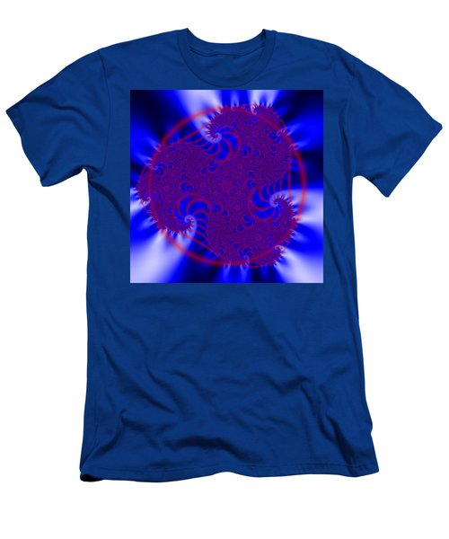 Men's T-Shirt (Athletic Fit) featuring the digital art Pollfengra by Andrew Kotlinski