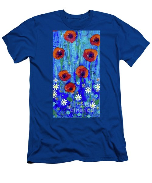 Poppy Dance Men's T-Shirt (Athletic Fit)