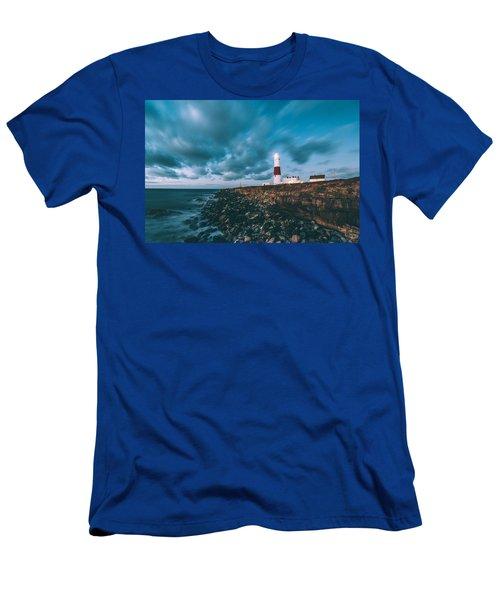 Portland Bill Dorset Men's T-Shirt (Athletic Fit)