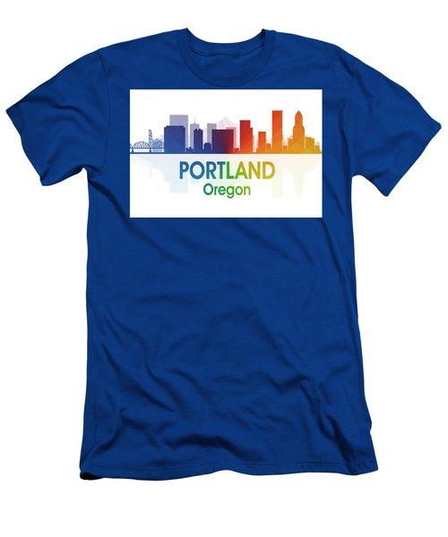 Portland Or Men's T-Shirt (Athletic Fit)