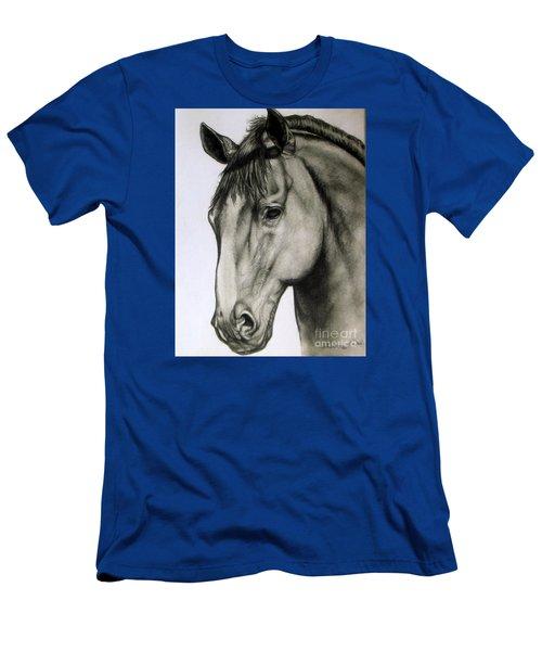 Portrait Of A Horse Men's T-Shirt (Athletic Fit)