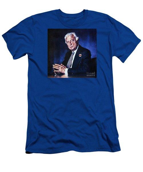 Portrait Of Gianni Agnelli Men's T-Shirt (Athletic Fit)