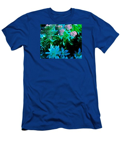 Men's T-Shirt (Slim Fit) featuring the photograph Potmates 5 by M Diane Bonaparte