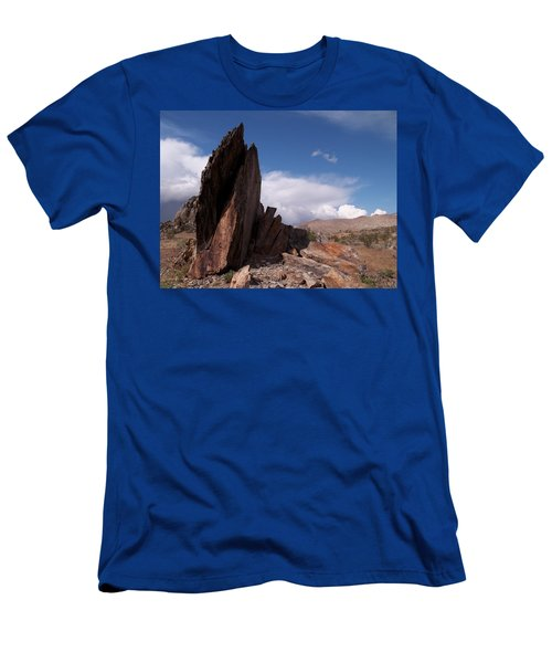 Prayer Rocks - Route 66 Men's T-Shirt (Athletic Fit)