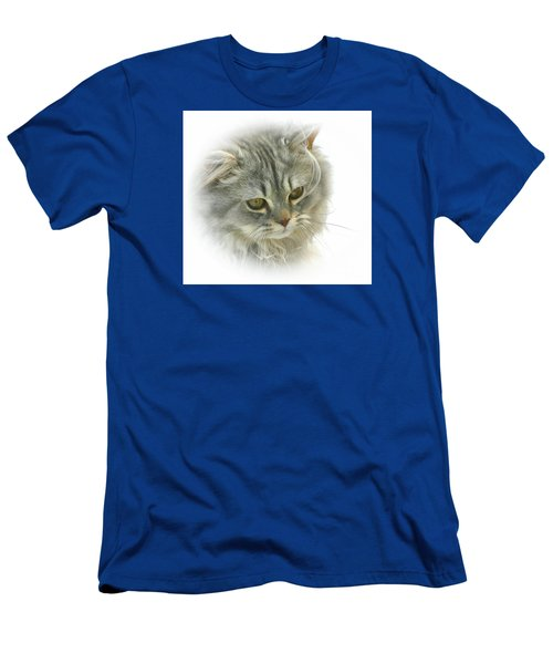 Men's T-Shirt (Slim Fit) featuring the photograph Pretty Kitty by Debbie Stahre