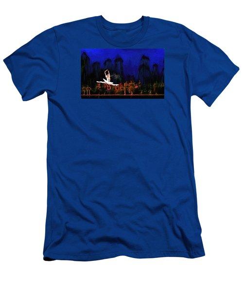 Prima Ballerina Men's T-Shirt (Slim Fit) by Louis Ferreira