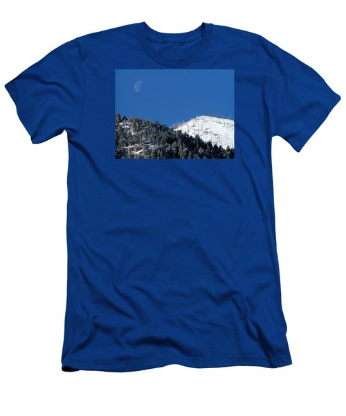 Pristine Winter Morning Men's T-Shirt (Athletic Fit)